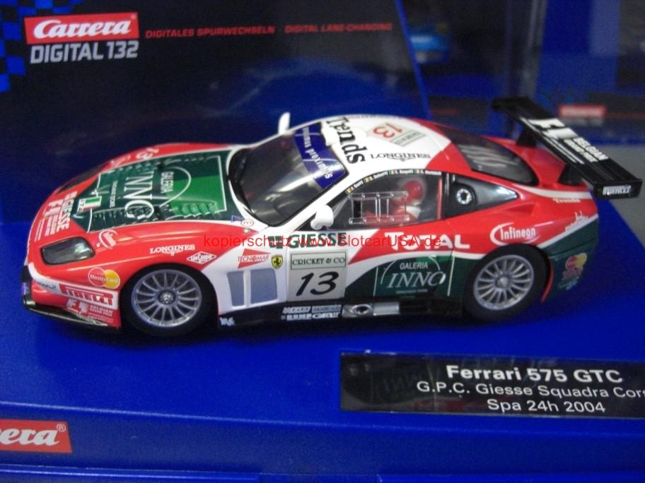 Ferrari 575 Gtc Gpc Giesse Squadra Corse Spa 24h 2004 Slotcarusa