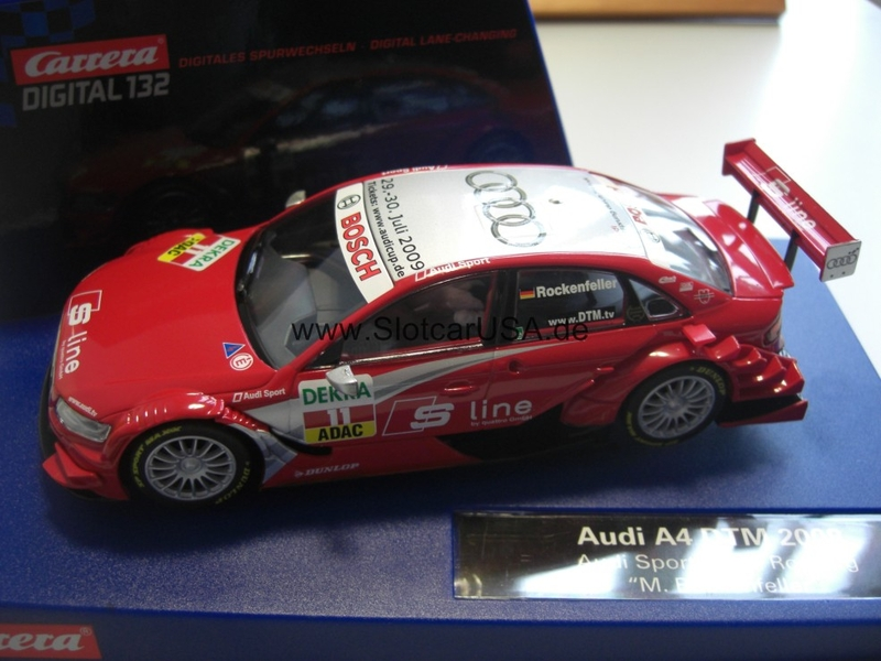 audi a4 dtm 2008 audi sport team rosberg m rockenfeller slotcarusa. Black Bedroom Furniture Sets. Home Design Ideas