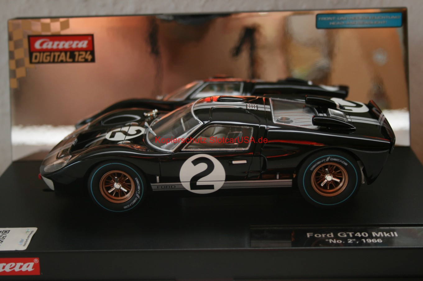 carrera digital 124 ford gt40. Black Bedroom Furniture Sets. Home Design Ideas