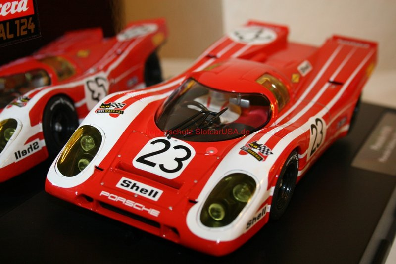 porsche 917 k porsche salzburg 1970 nr 23 rot wei. Black Bedroom Furniture Sets. Home Design Ideas