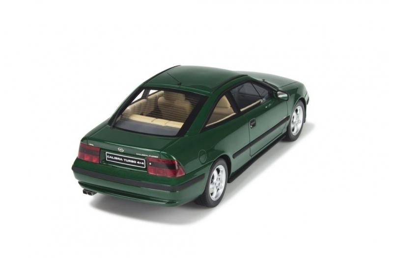 ottomobile ot651 opel calibra turbo 4x4 gr n slotcarusa. Black Bedroom Furniture Sets. Home Design Ideas
