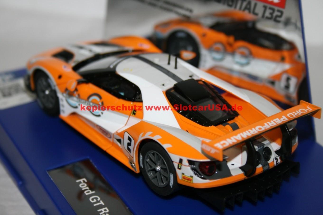 carrera digital 132 30786 ford gt race car nr 02 slotcarusa. Black Bedroom Furniture Sets. Home Design Ideas