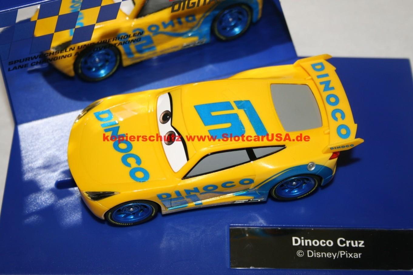 carrera digital 132 30807 disney pixar cars 3 dinoco. Black Bedroom Furniture Sets. Home Design Ideas