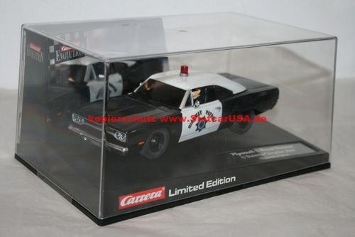Carrera Evolution 25787 Plymouth Road Runner Highway Patrol Limited Ed.