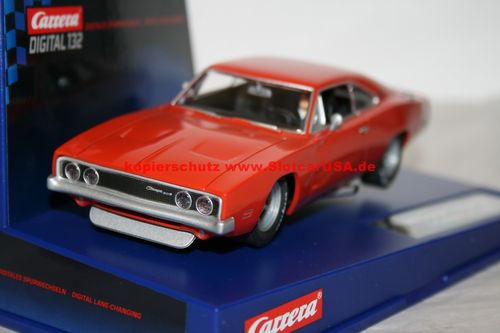 Carrera Digital 132 27301X Dodge Charger 500 Umbau USA Modell