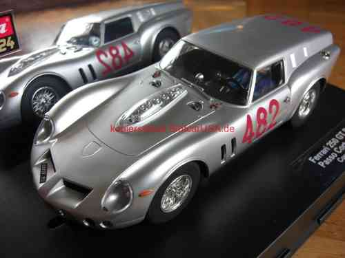 "Carrera Digital 124 23755 Ferrari 250 GT ""Breadvan"" Coppa Gallenga 1965 Nr. 482 silber"