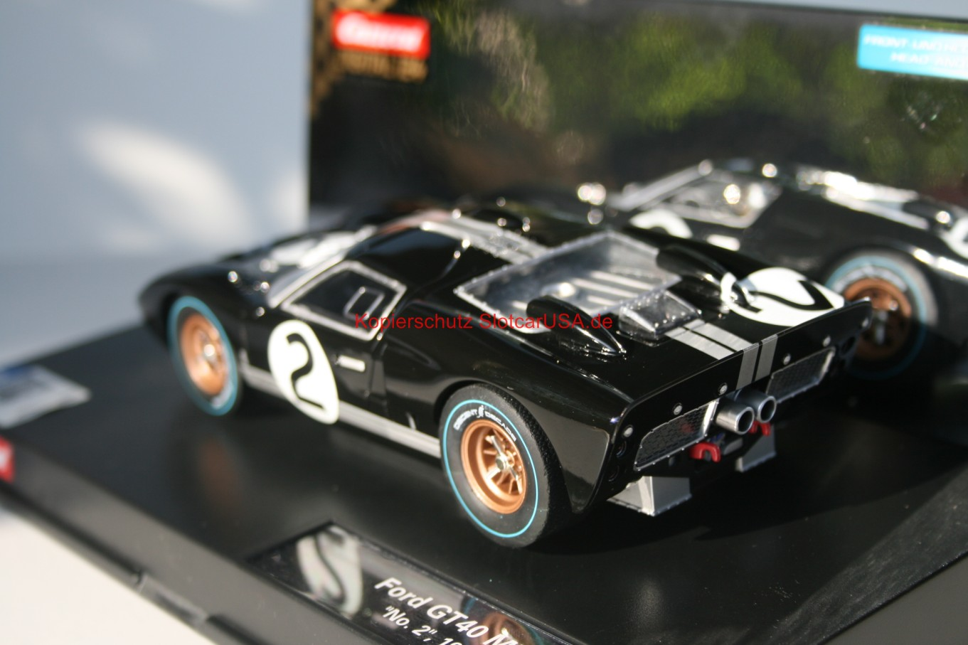 carrera digital 124 23769 ford gt 40 mk ii 1966 nr 2. Black Bedroom Furniture Sets. Home Design Ideas