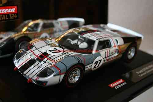 Carrera Digital 124 23766 Ford GT 40 Mk II Clubmodell 2011 Nr. 27