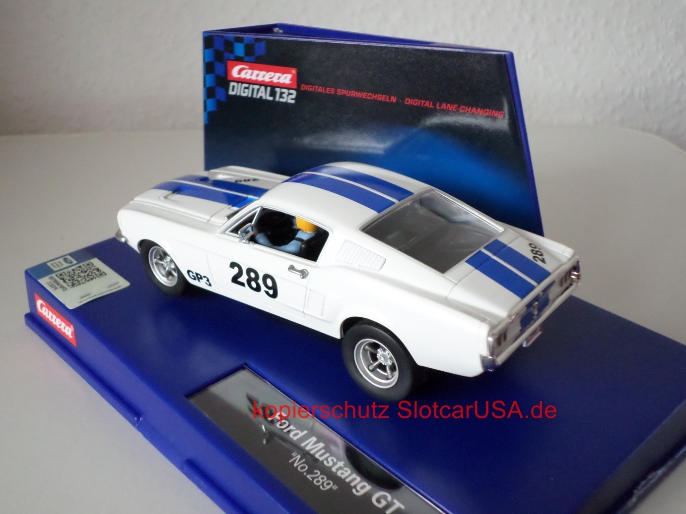 ford mustang gt 1967 nr 289 slotcarusa. Black Bedroom Furniture Sets. Home Design Ideas