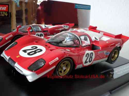 Carrera Digital 124 23788 Ferrari 512 S Berlinetta 24h Daytona 1970 Nr. 28