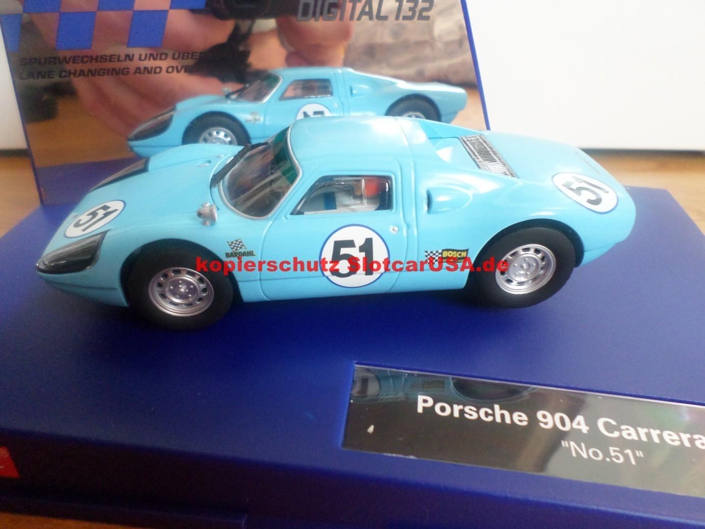 Porsche 904 Carrera Gts Nr 51 Slotcarusa