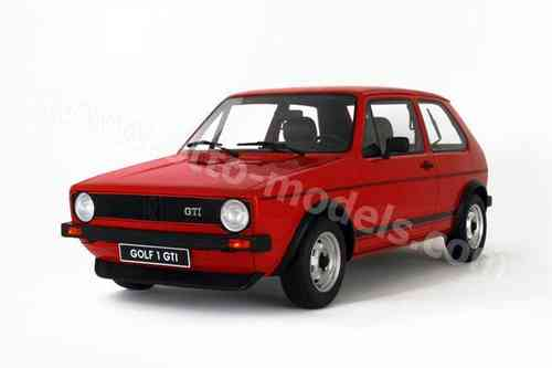 Ottomobile 1/12 Diecast Model Car G013 GOLF GTI MK I 1600