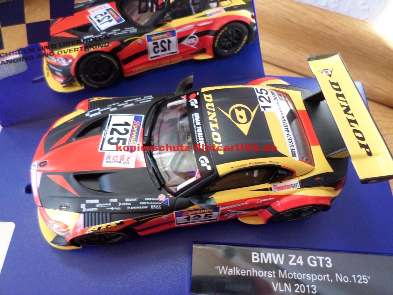 Bmw Z4 Gt3 Walkenhorst Motorsport Vln 2013 Nr 12 Slotcarusa