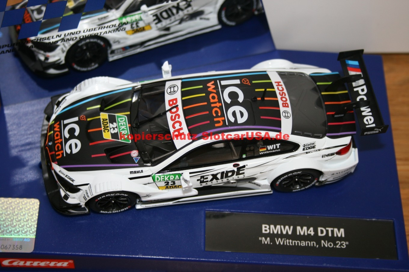 Marco Wittmann Carrera Digital 132 30738 BMW M4 DTM BMW-Team RMG