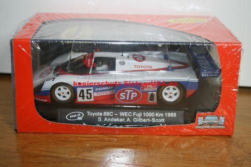 Slot it CA19E Toyota 88C - Nr  45 WEC Fuji 1000 Km 1988 - S  Andskar - A   Gilbert-Scott