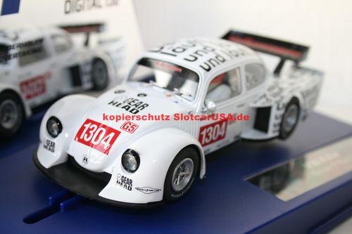 Carrera Carrera Carrera Digital 132 30728 Volkswagen Käfer Gr. 5 Race 3 Nr. 1304 Idee  Spiel  | Zu verkaufen  358f55
