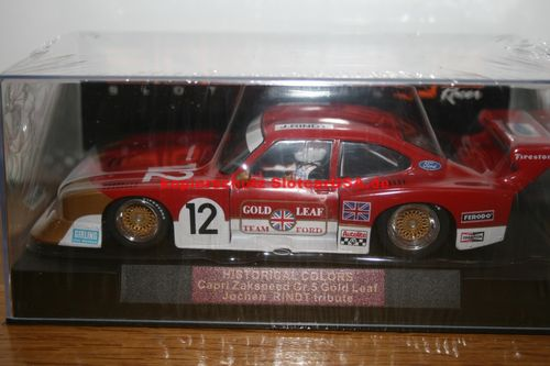 Sideways SWHC02 Ford Capri Zakspeed Turbo Gold Leaf Limited Edition