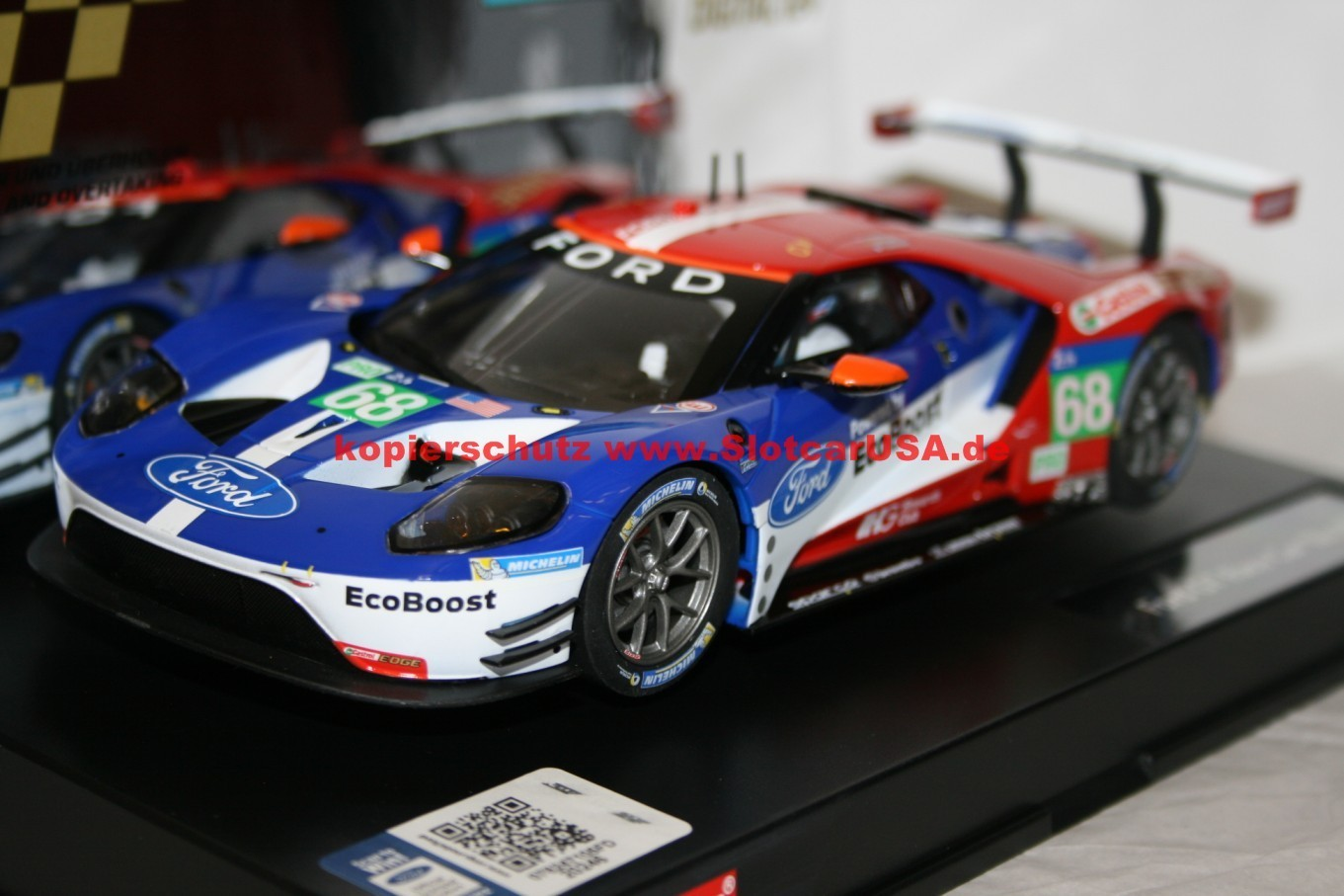 carrera digital 124 23832 ford gt race car slotcarusa. Black Bedroom Furniture Sets. Home Design Ideas