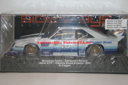Sideways SW49 Ford Mustang Turbo - Nr. 16 Team Zakspeed Roush IMSA GTP 1981