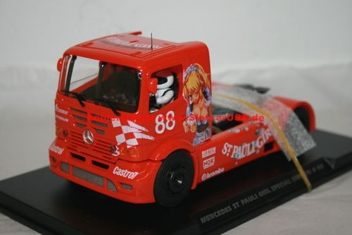 Fly Slot 202311C Mercedes Benz Truck St Pauli Girl Special Edition Anime rot Nr. 88