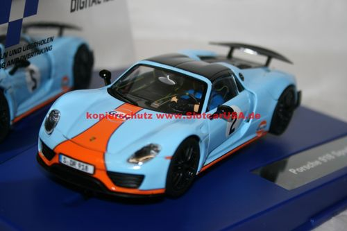Carrera Digital 132 30788 Porsche 918 Spyder Gulf Racing Nr 02