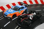 Carrera Evolution BMW Z4 GT3 Schubert Motorsport ohne Decoder Licht