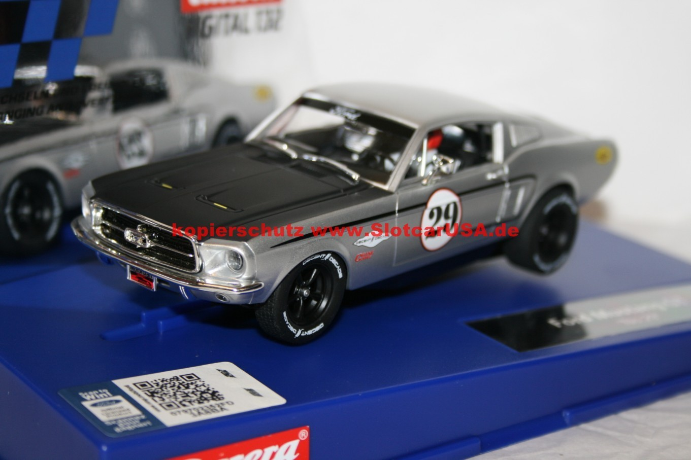 carrera digital 132 30794 ford mustang gt nr 29 slotcarusa. Black Bedroom Furniture Sets. Home Design Ideas