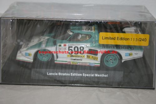 SW53M Lancia Stratos Edition Special Menthol Limited