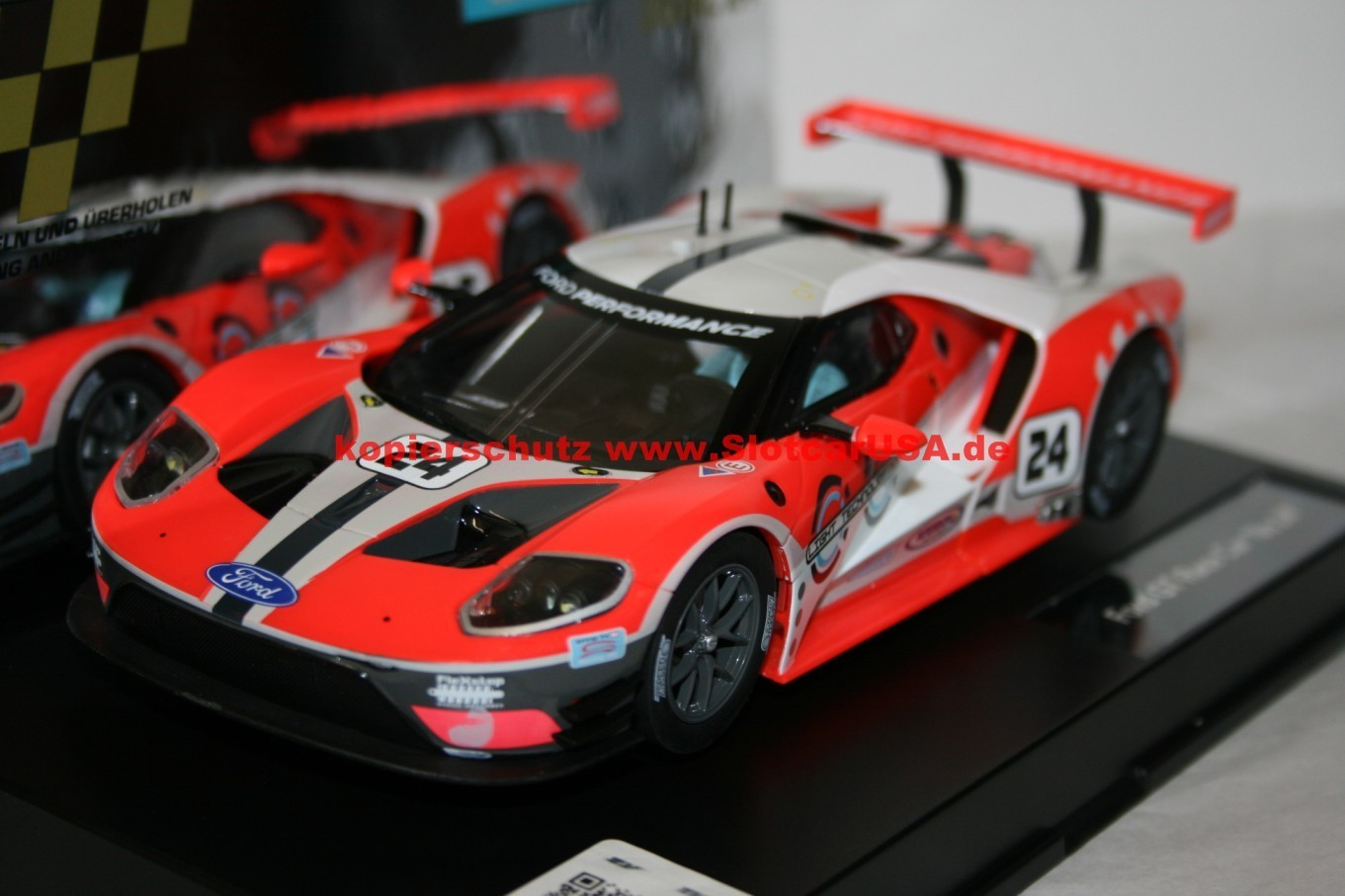 carrera digital 124 23841 ford gt race car nr 24 slotcarusa. Black Bedroom Furniture Sets. Home Design Ideas