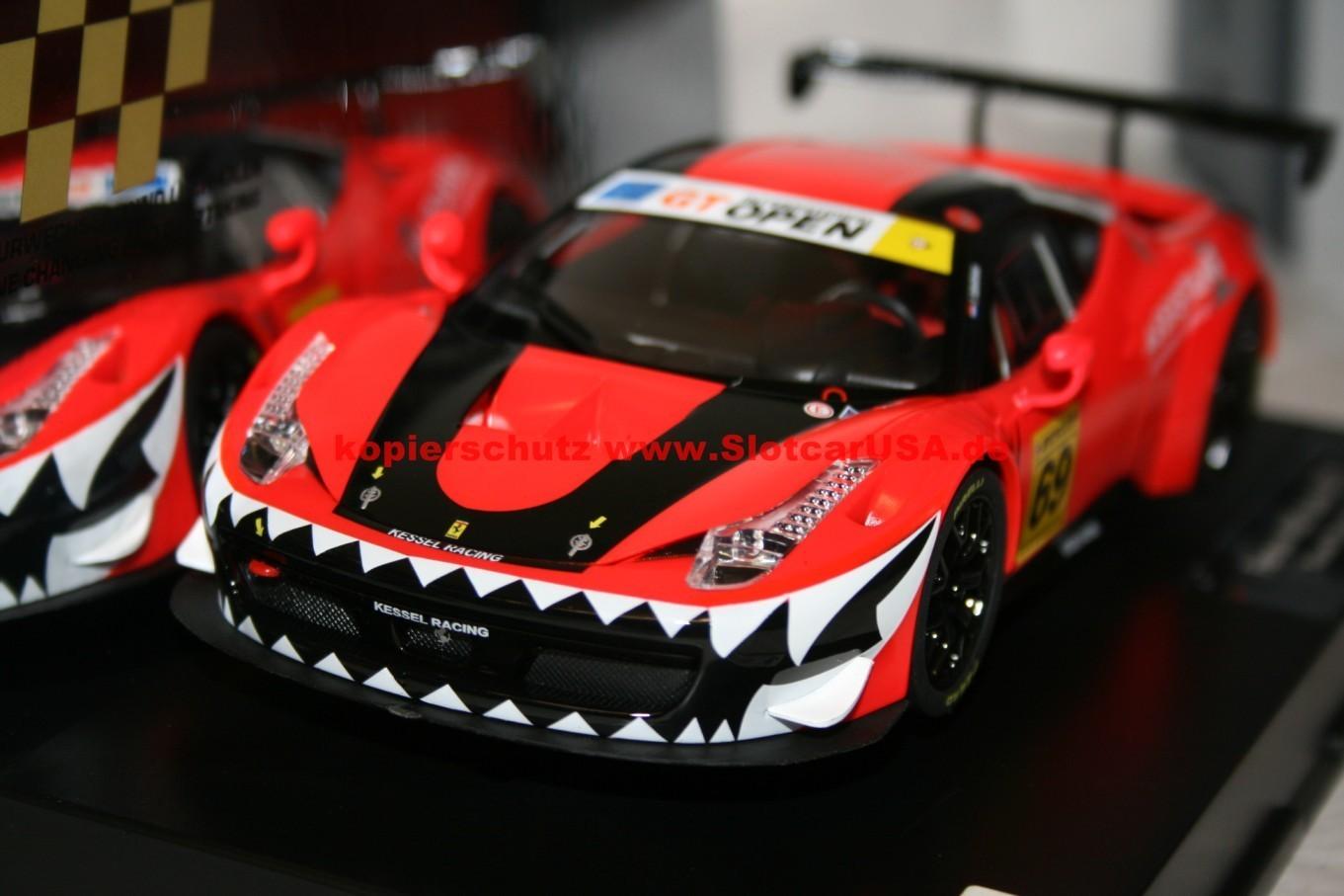 Carrera Digital 124 23838 Ferrari 458 Gt3 Kessel Racing Nr 69