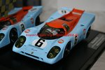 Carrera Digital 124 23857 Porsche 917K J. W. Automotive Engineering Nr. 6 Watkins Glen Test 1970