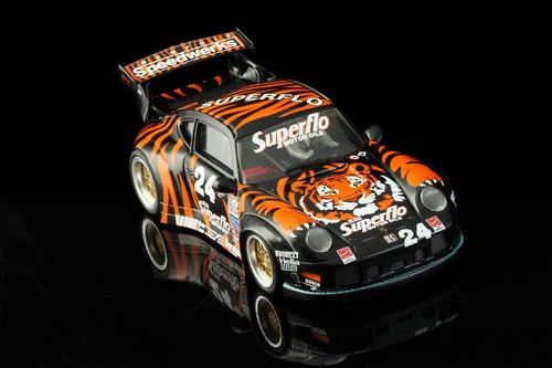 RevoSlot RS0004 Porsche 911 gt2 tiger superflo Nr. 24 Tim vargo