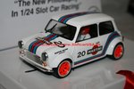 BRM BRM090 1/24 Slotcar MINI COOPER MARTINI WHITE EDITION Nr. 20