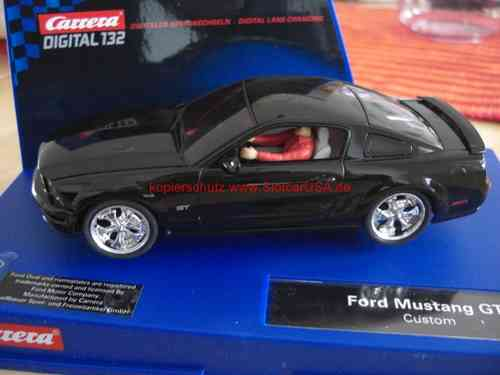 Carrera Digital 132 30284 30252 Ford Mustang GT 2005 Custom Umbau