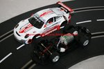"Carrera Evolution Porsche 911 GT3 RSR Lechner Racing ""Carrera Race Taxi"""