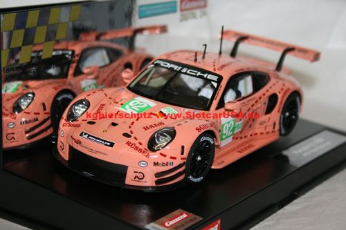 Carrera Digital 124 23886 Porsche 911 RSR (991) Pink Pig Design Nr. 92