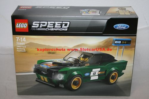 LEGO® 75884 Speed Champions 1968 FORD Mustang