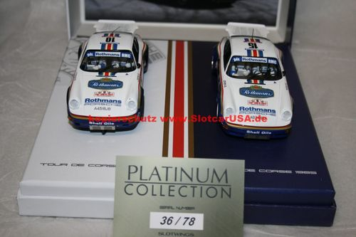 Slotwings RW044-01 Porsche 911 Tour de Corse 1985 - Collection Rothmans