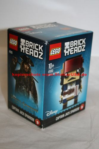 LEGO® 41593 Brick Headz Captain Jack Sparrow