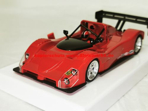 RevoSlot RS0058 Ferrari 333SP Presentation Red lange Nase