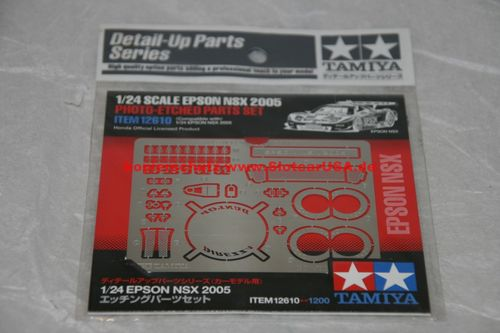 Tamiya 12610 1/24 Epson NSX 2005 Photo-Etched Parts Set Photoaetzteile