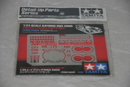Tamiya 12609 1/24 Raybrig NSX 2005 Photo Etched Parts Set Photoaetzteile