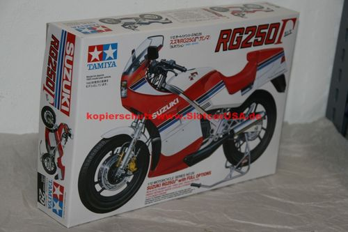 Tamiya 14029 1/12 Suzuki RG250 / whit Full Options