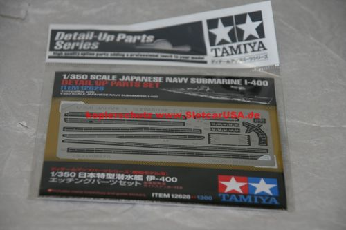 Tamiya 12628 1/350 Scale Japanes Navy Submarine I-400 Photoätzteile