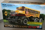 Tamiya 47376 1/18 RC King Yellow 6x6 Painted Body Limited Edition