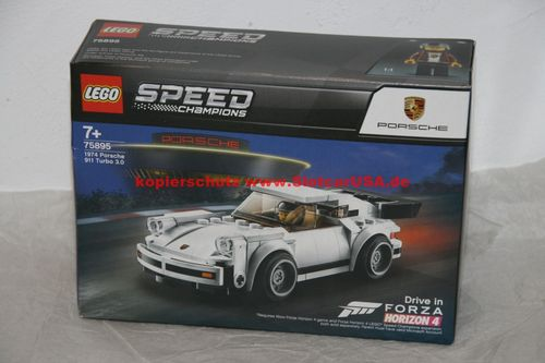 LEGO® Speed Champions 75895 Porsche Turbo 3.0 1974