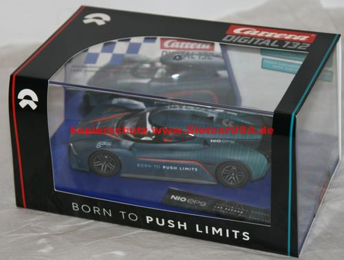 Carrera Digital 132 30297 NIO EP9 BORN TO PUSH Limits dunkelblau