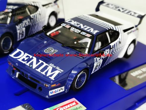 Carrera Digital 132 30925 BMW M1 Procar Denim Nr. 81
