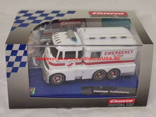 Carrera Digital 132 30943 Carrera Truck Ambulanz