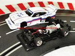 Carrera Evolution Ford Capri Zakspeed Turbo Lili Reisenbichler Nr. 4